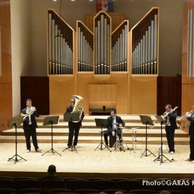 A Savaria Rézfúvós Együttes hangversenye -